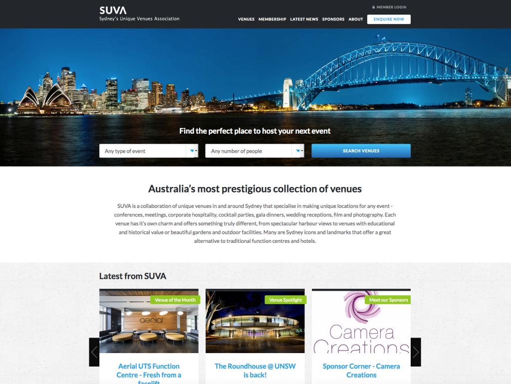 Screenshot SUVA